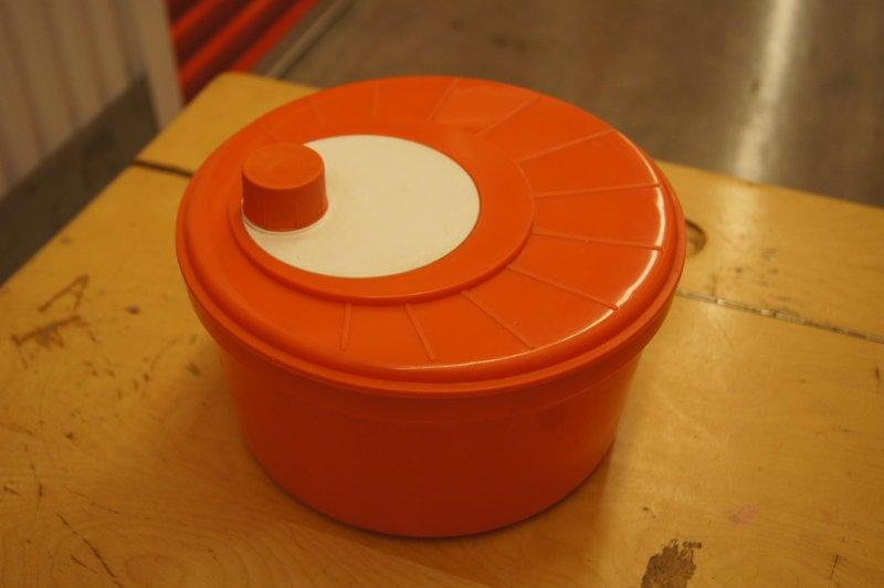 【107】可愛沙拉脫水盤 /偉士牌復古工業普普太空古董loft電影道具佈置