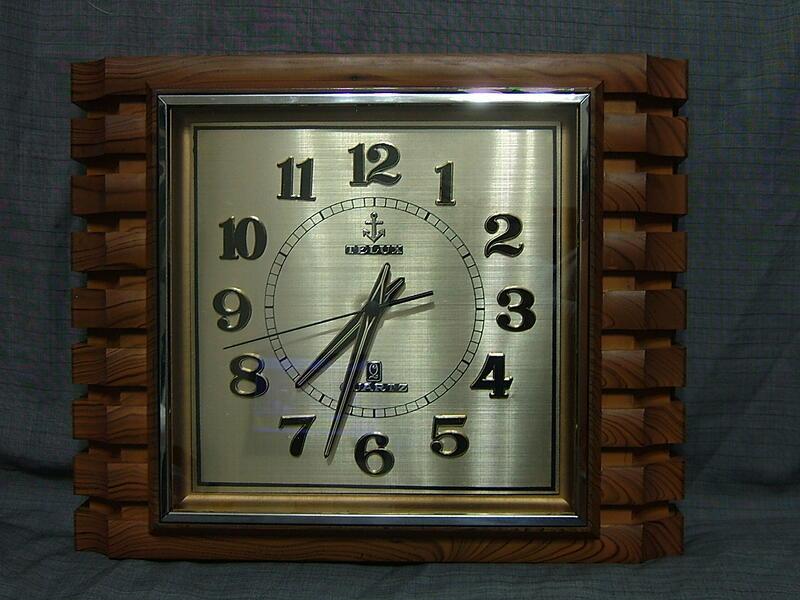 早期 鐵力士 TELUX 石英 掛鐘 時鐘