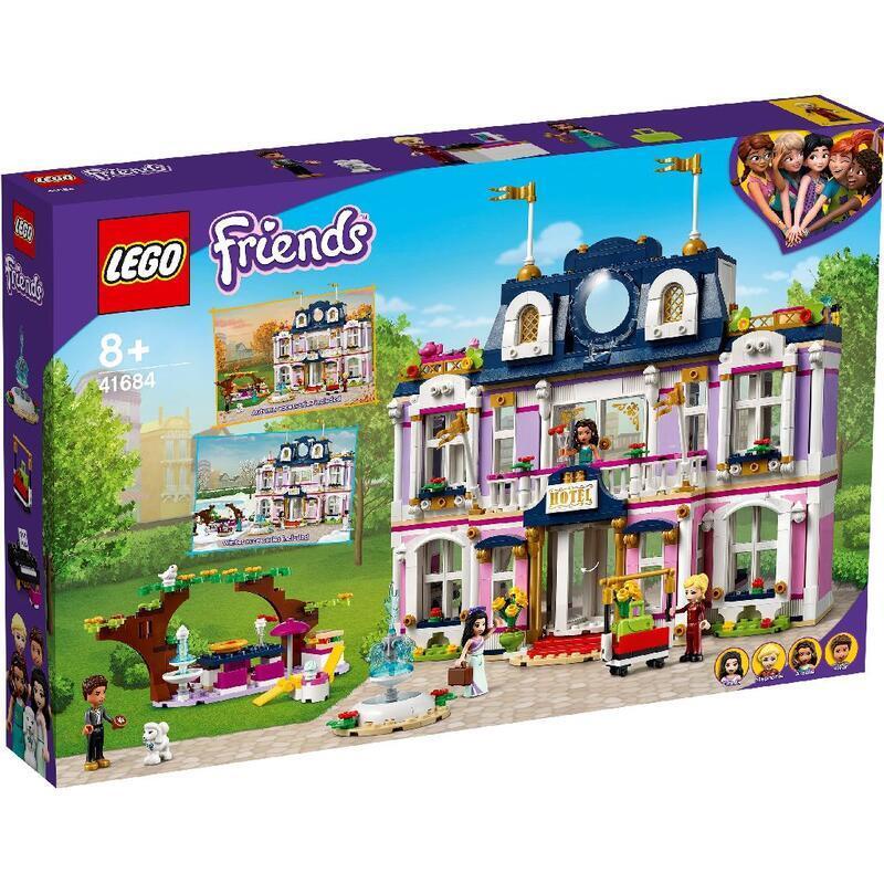 【高雄好美玩具積木專賣店】樂高 LEGO 41684 Friends系列  心湖城大飯店