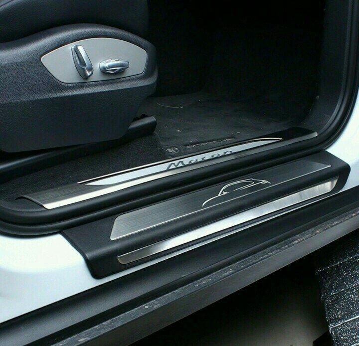 【頂級汽車精品】高品質 原廠型  保時捷 MACAN 專用 金屬 不鏽鋼 迎賓 踏板  門檻 送安裝