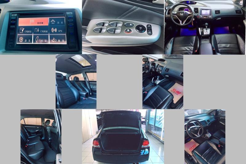 2009年 HONDA K12 黑 1.8 總代理 CD VCD DVD MP3 大螢幕 皮椅 恆溫 天窗 ABS TC