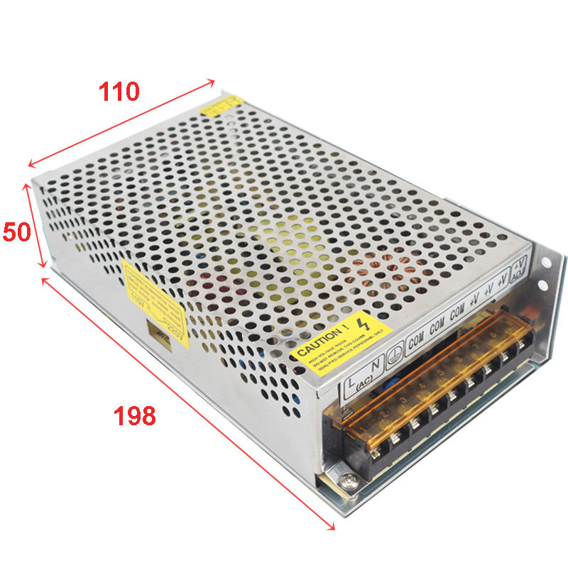 LED 電源供應器 5V 40A 200W三路輸出 交直流轉換變壓電源 工業電源 AC110V/220V可切換