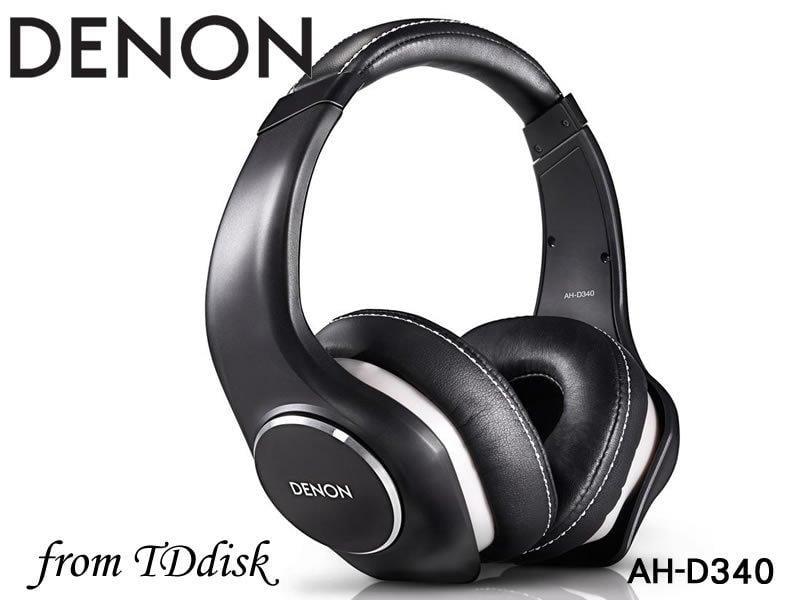 志達電子 AH-D340 福利品出清(頭帶或耳罩脫皮) DENON AH D340 可換線式 耳罩式耳機[公司貨]