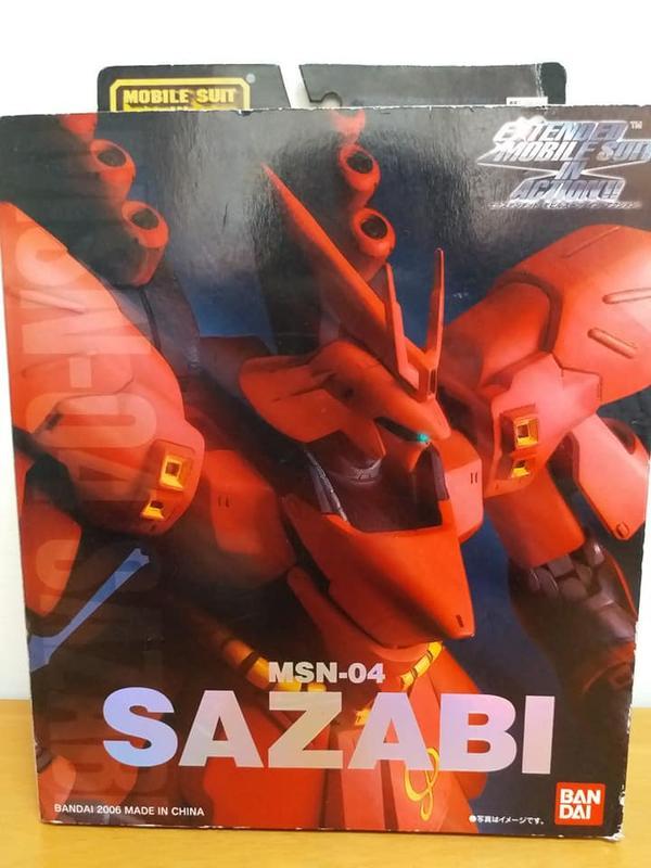 BANDAI EMIA MSN-04 SAZABI 沙薩比  Gundam Char's Counteratt