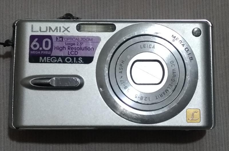 Panasonic DMC-FX9 數位相機(零件機)