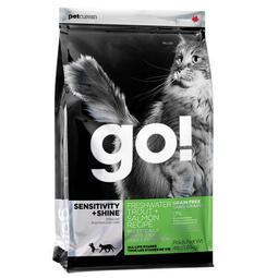 【時尚貓】 (三包超取免運 )GO! 80% 無穀貓糧~淡水鱒魚~1公斤 試吃包 分裝包