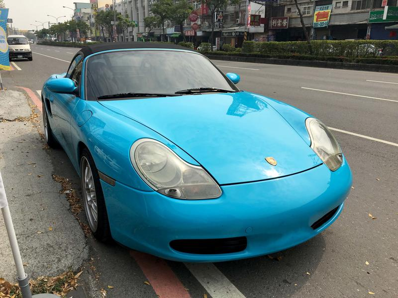 """1998"""" 保時捷 Porsche 986 Boxster 稀有手排"""
