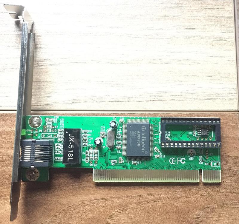 【FG】桌上型 PCI介面網路卡 RJ45 AN983B 10/100Mbps