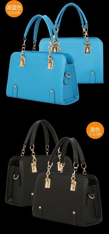 2016流行新款韓版時尚名媛鍊子側背斜背手提包