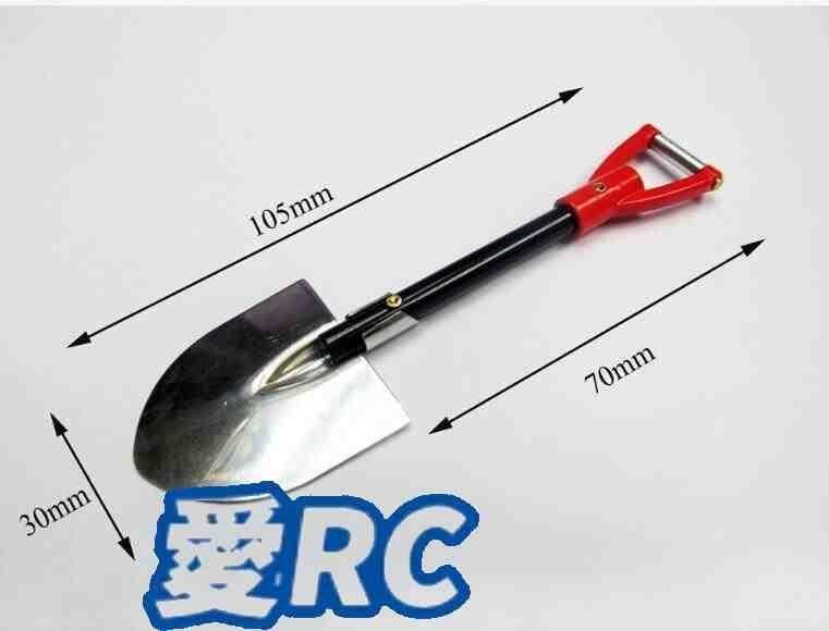 《愛RC》攀岩車TRX4 SCX10 仿真配件_鏟子(TRX-4)
