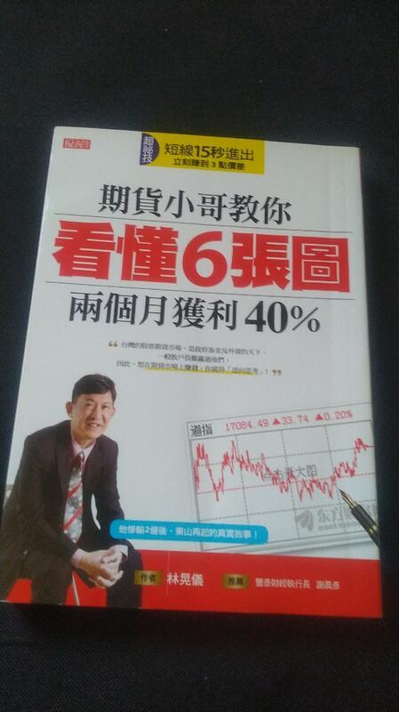 期貨小哥教你看懂6張圖,兩個月獲利40%
