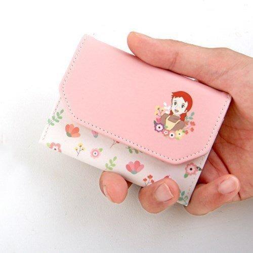 ♀高麗妹♀韓國 Flying whales Card CASE 清秀佳人 證件/信用卡/名片 萬用釦式收納夾(預購)