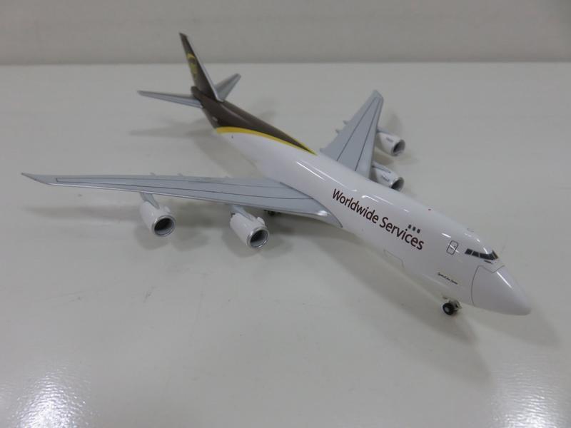 宗鑫貿易 1/500 Herpa Wings HW531023 Boeing 747 8F Cargo UPS 塗裝