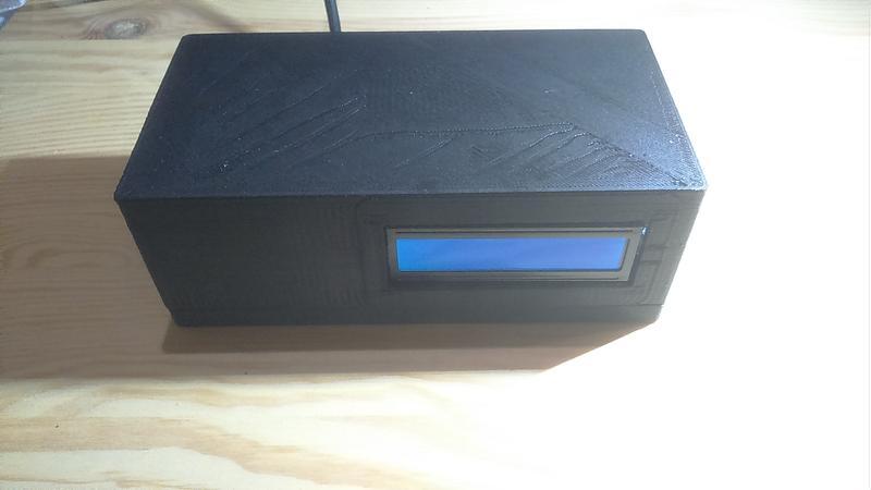 3D列印 Arduino UNO W5100 帶1602LCD框 case 外殼 電子萬用盒Arduino開發
