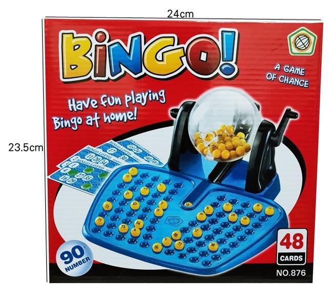 【阿LIN】900759 盒裝90球搖獎機 益智迷你型賓果機 開獎機 手動Bingo