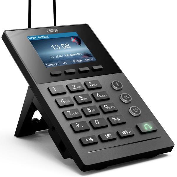 全新Fanvil X2P 客服IP電話 HD SIP Phone 支援PoE VoIP網路電話 IP52 X1P X3S