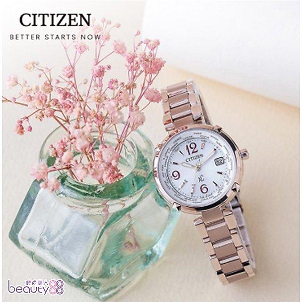 【CITIZEN】 星辰 xC系列 玫瑰精靈時尚電波錶(EC1047-57A)_EC1047-57A