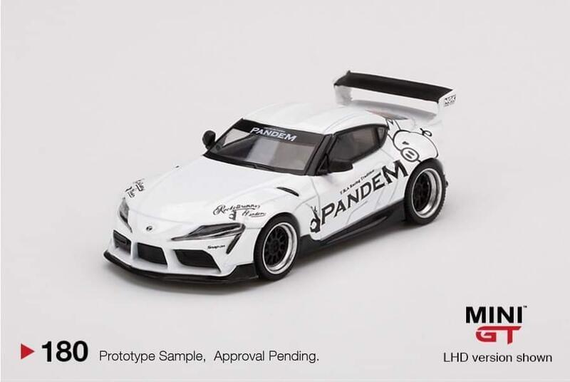 [脫韁野馬] 1/64 mini-gt Pandem Toyota GR Supra V1.0 預購