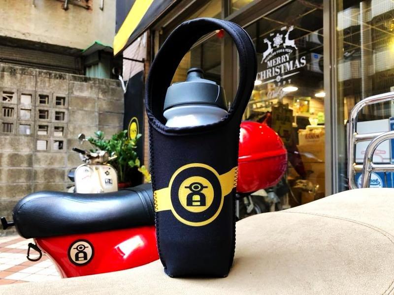 【ProjectA】黑黃SCOOTER 經典款 VESPA BLR 環保杯套 提袋 咖啡杯袋 gogoro