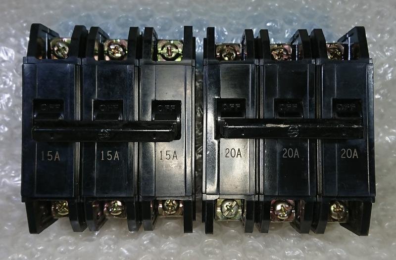 ◢ 簡便宜 ◣ 二手 士林電機 BH型 無熔絲開關 無熔線斷路器 3P 10A 15A 20A 30A 40A 50A