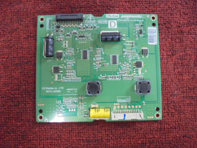 37吋LED液晶電視 高壓板 6917L-0056D ( LG  37LV3500 ) 拆機良品