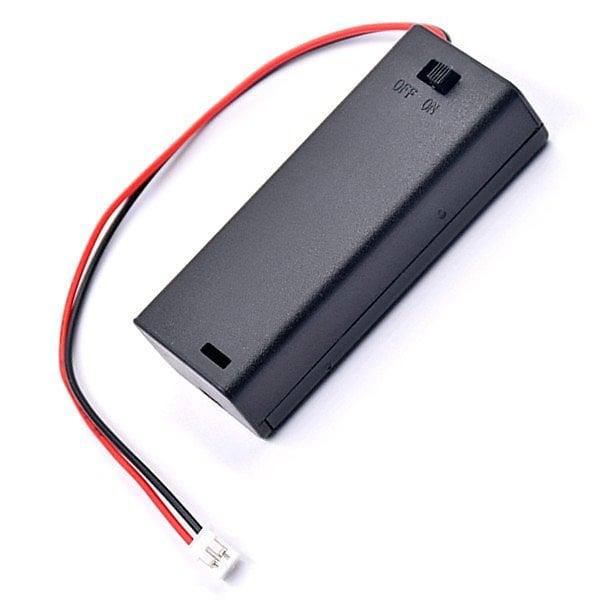 Micro:bit外接電池盒DC3V 有開關 4號電池盒 Microbit電源插頭JST PH2.0mm