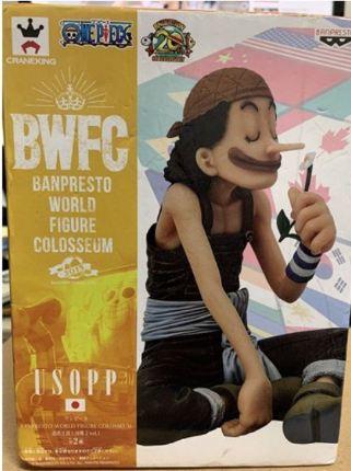 【金證】海賊王 BWFC 烏索普