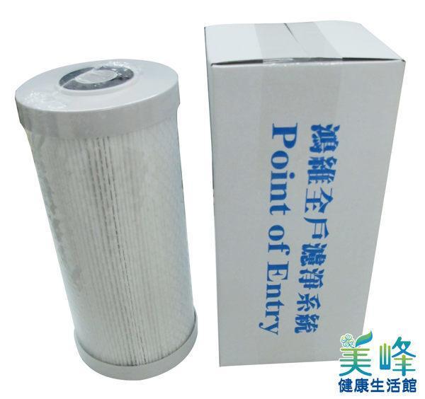 台灣製造鴻維牌濾博士全戶濾淨系統專用鴻維原廠複合式濾心,雙效濾芯10吋大胖全戶濾心1200元