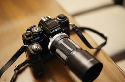 稀有如新附保證書 Minolta 135mm MC ROKKOR-QD F3.5 No.1112013