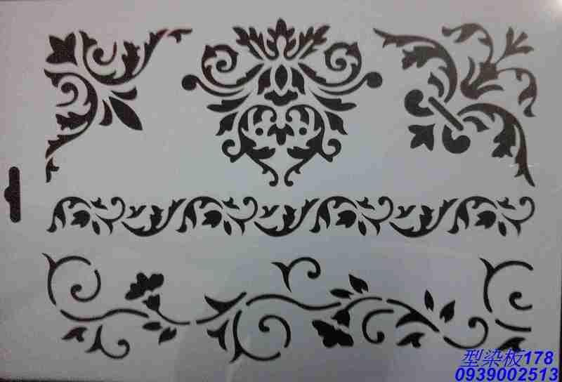 型染板178[丁媽蝶古巴特]丁媽 餐巾紙 蝶古巴特 25.5X17公分