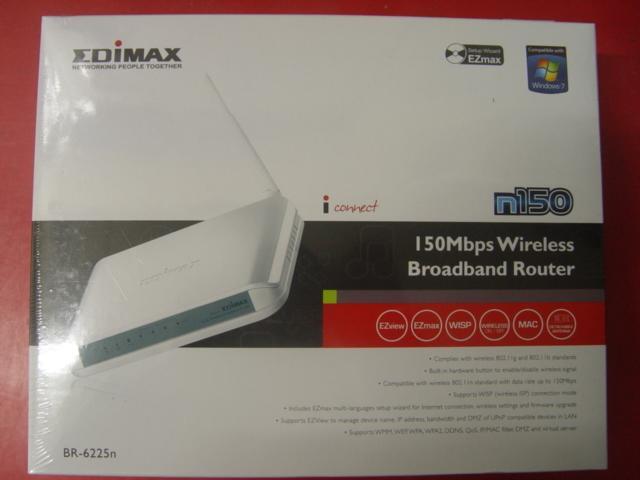 新品 未拆封 出清隨便賣  訊舟 Edimax  BR-6225N 無線網路寬頻 分享器   EU版 附電源萬轉接頭