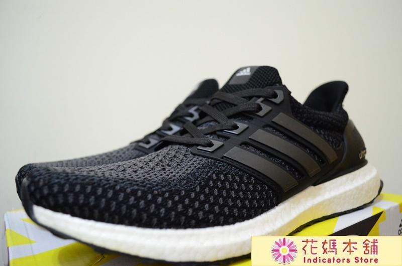 newest 1b2f1 0a27a 花媽 真爆 Adidas Ultra Boost 2.0 黑白 編織 襪套 馬牌底 慢跑鞋 男女鞋 BB3909