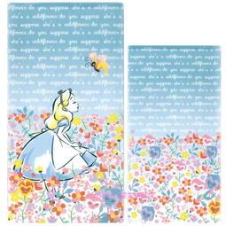 asdfkitty可愛家☆迪士尼艾麗絲抗菌口罩收納夾/收納套-可收納3個紙口罩-日本製