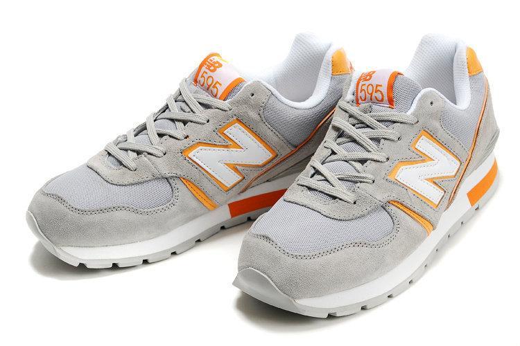 nouveau concept 33f59 75e76 獨特新配色!紐巴倫/New Balance 595復古男子總統慢跑鞋 灰桔尺碼:40-45