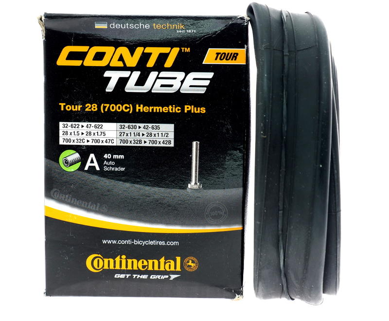艾祁單車馬牌Continental Tour 28 Hermetic Plus高氣密700c 32C-42C旅行車用內胎