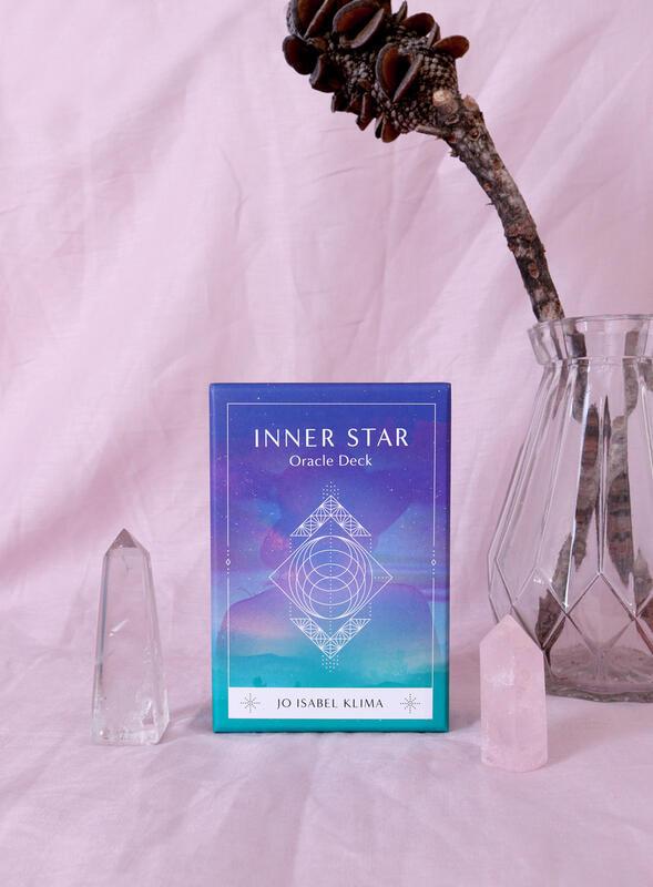821【佛化人生】現貨 正版 Inner Star Oracle 內在晨星神諭卡 私人設計出版