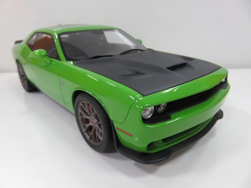 宗鑫貿易 GT SPIRIT GT168 Dodge Challenger Hellcat SRT 競技綠