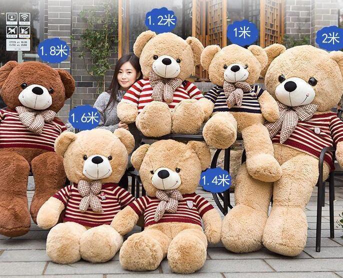 絨毛玩具熊 泰迪熊 公仔 生日禮物 熊玩偶 抱枕 禮物 禮贈品