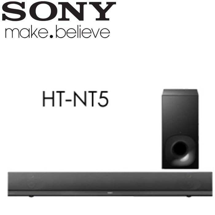 [網路GO] SONY新力 Hi-Res/4K 單件式環繞家庭劇院 Soundbar (HT-NT5)