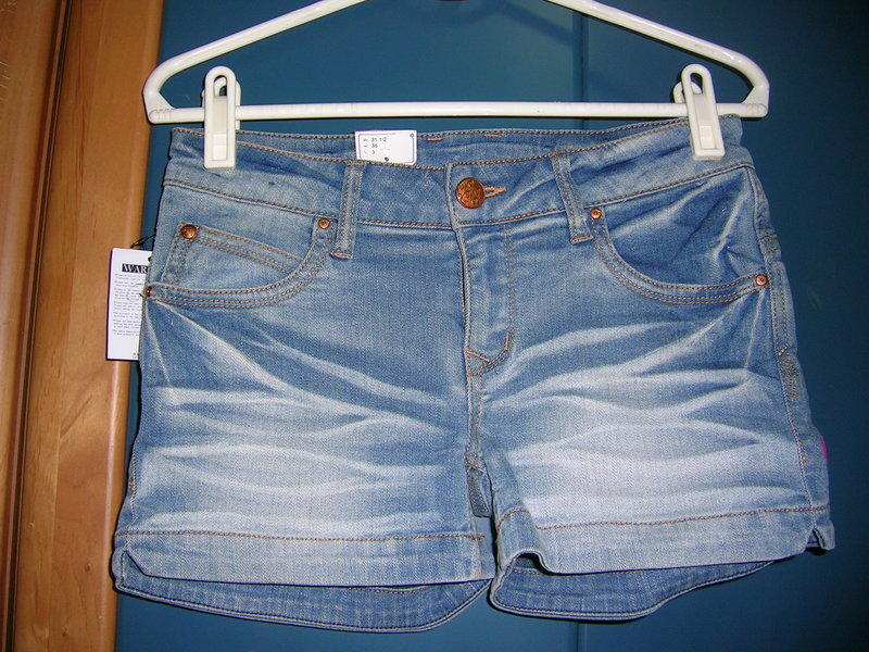 全新 BIG  TRAIN【Victoria】短褲 (淺藍)  L 號