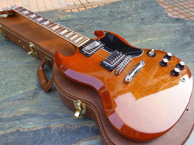 【Chad's Guitar代購】Gibson SG Standard Natural Burst