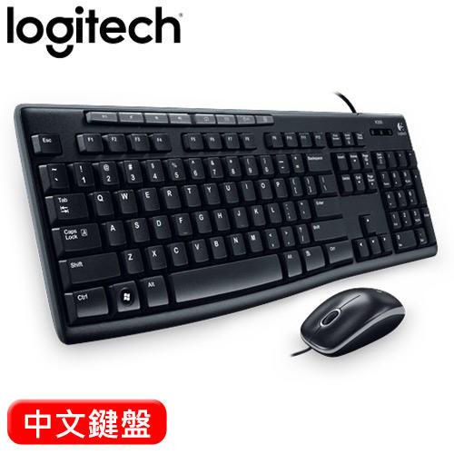 【豪騰電腦】Logitech 羅技 MK200 USB 有線 鍵盤滑鼠組 鍵鼠組