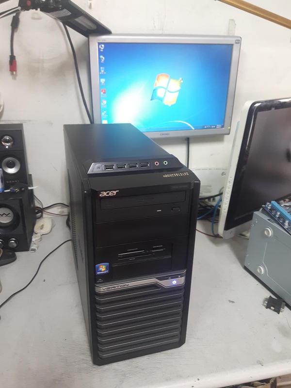 【 大胖電腦 】 Acer宏碁 INTEL i5主機/WIN10正版/1155腳位/SSD/獨顯 良品 直購價4000元