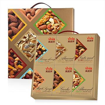 【PChome 24h購物】 萬歲牌年節限定堅果禮盒 (內含6小盒)  DBAC6Z-A9007P5D8