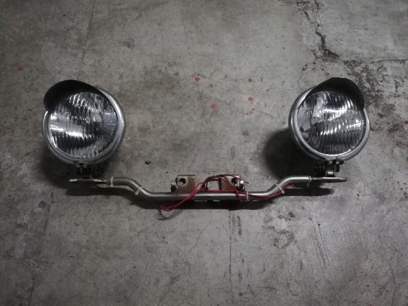 跩哥150改裝燈 嬉皮車 哈雷