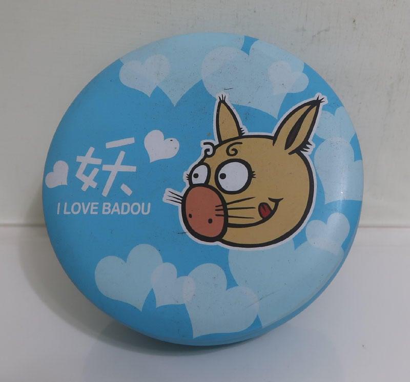 溪頭妖怪村-BADOU 八豆妖 糖果罐/空鐵罐/收納罐/置物罐