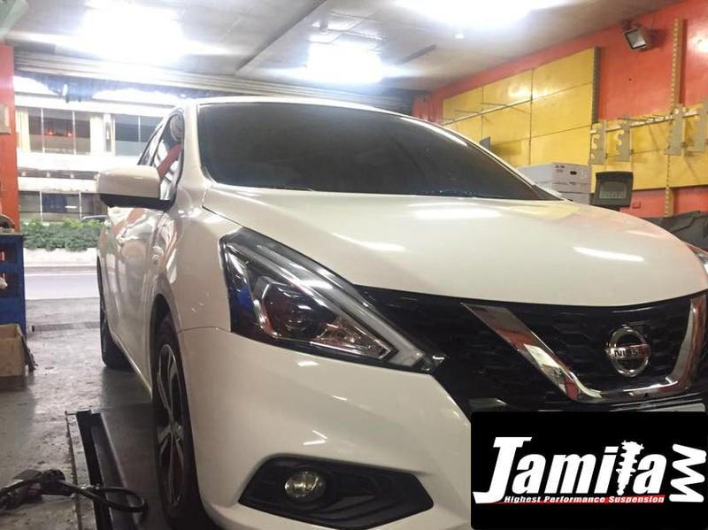 Jamila-倒叉避震器 Tiida March Sentra GTR Livina Kicks Xtrail Juke