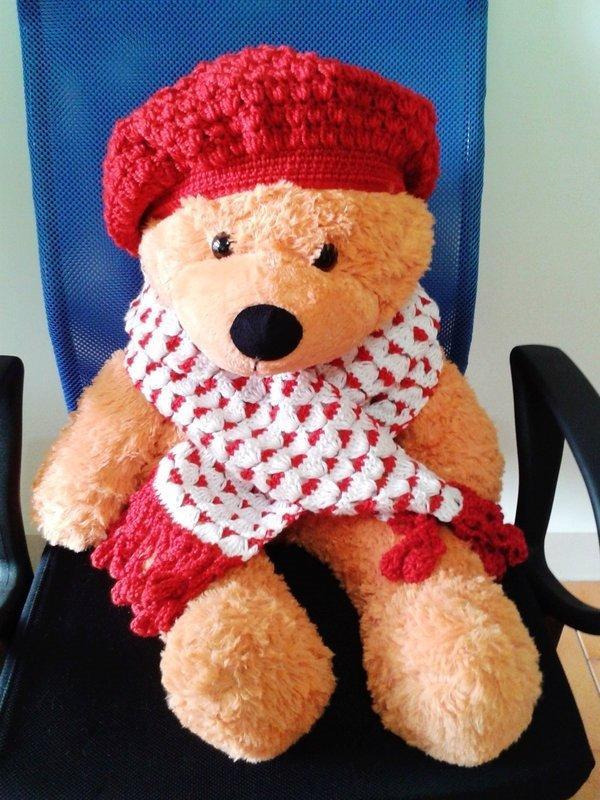 寶貝小藍 ❤ 純手工圍巾 手勾毛線圍巾VEW#A01     出清價