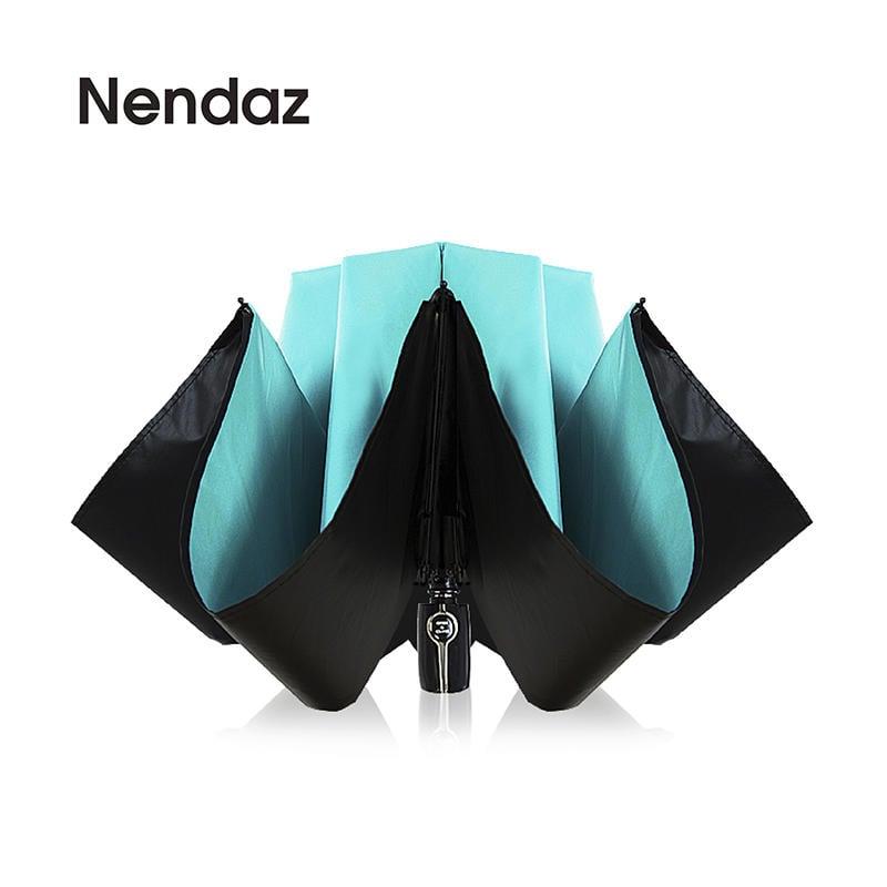 雨傘送5片口罩【Nendaz】秒乾、降溫、車門收納自動反向傘 自動傘 防風傘 摺疊傘 自動開收傘 晴雨傘 黑膠傘 大傘面