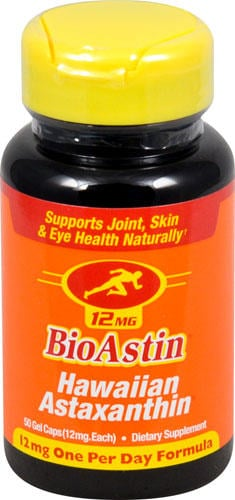 美國直送◆◆Nutrex Bioastin 夏威夷蝦紅素 12mg 50顆 蝦青素/ costco代購
